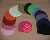 NEW COLORS U PICK 1 Cotton Infants KUFI Caps Any Color Sweet ALSO WITH NEW COLORS