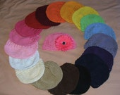 SALE U PICK 1 Cotton Toddlers KUFI Caps Any Color Sweet
