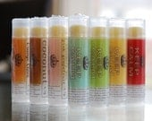 Lip Balm - all natural w/ sea buckthorn oil - 4.3 g total - by Soap Utopia