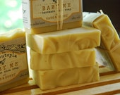 Ultra-mild soap for babies and faces - no added scent - cold processed for the love of your skin - with oats & honey - handcut 3.5 oz.