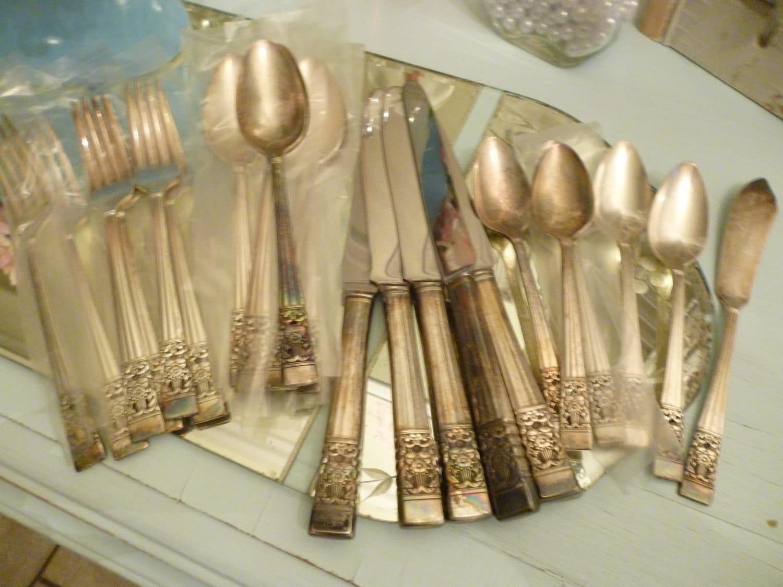 Coronation Silver Plated Silverware Community Sale