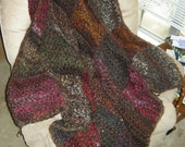 Patchwork Afghan (super soft/doubled yarn) RESERVED FOR SOSTENG