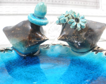 Cake toppers for wedding Modern cake topper Wedding cake topper Love bird cake topper Cake decoration