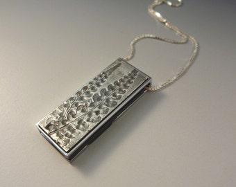 USB flash drive necklace - handmade art jewelry
