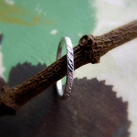 Chute Ring - size 4.5 - Sterling Silver