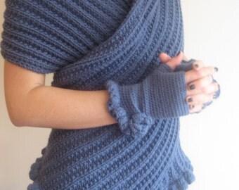 Dolce Vita Scarf, Women Scarf, Wool Scarf, Handknitt Scarf