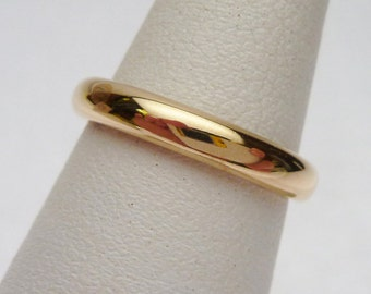 18kt Composite Gold Wedding Band 1915
