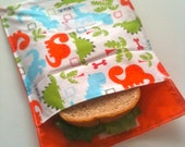 Little Dinosaurs Sandwich Size Recycl-a-bag