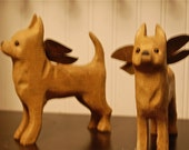 carved chihuahua