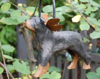 carved rottweiler