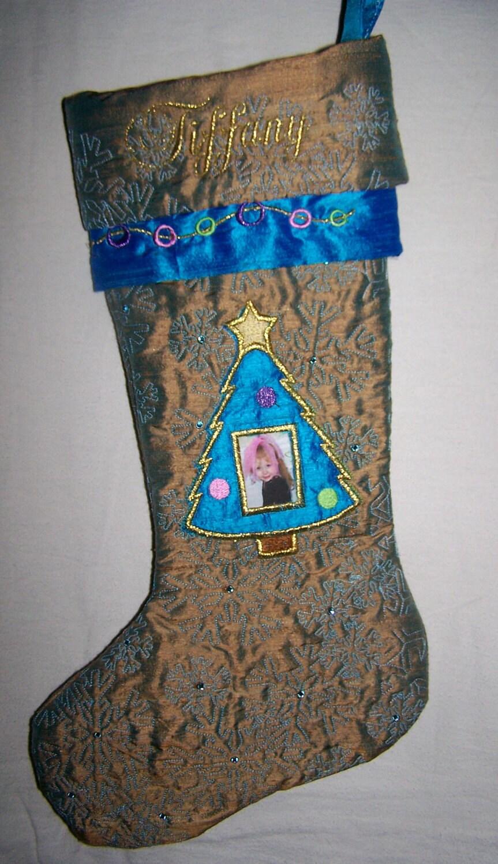 Custom Personalized Photo Christmas Stockings