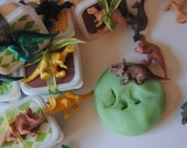 DINOSAUR PARTY FAVORS Play Dough for the pint sized Paleontologist