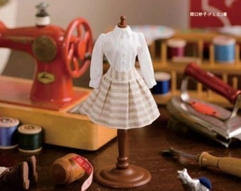 My First Doll Coordinate Recipe - Japanese Sewing Book for Blythe Doll Clothing - Dolly Dolly Books - Taeko Sekiguchi - Easy Tutorial, B29
