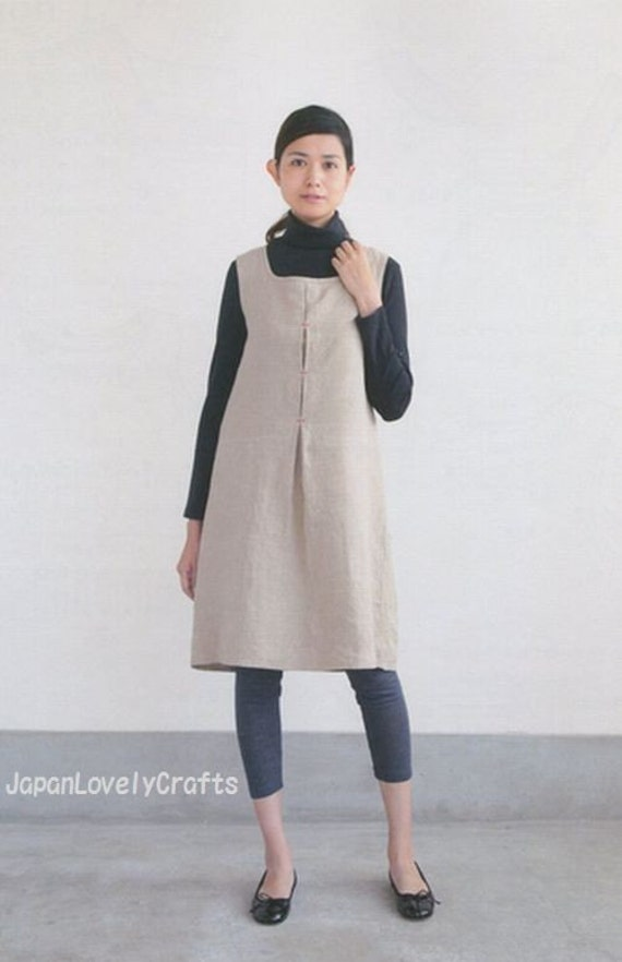 Simple Japanese Style Dress Aoi Koda Japanese Sewing