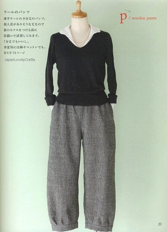 Simple Dress Patterns - Japanese Sewing Pattern Book for