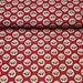 Japanese Cotton Print  Fabric - French SOULEIADO - La Fleur d'Arles, Red - NT283
