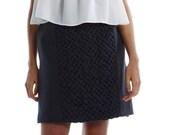 Skirt With Hand Smocking