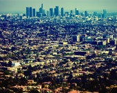 5x7 Los Angeles at Griffith - Fine Art Print