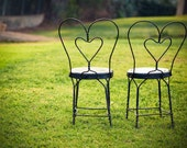 Chairs in Love - 5x7 Fine Art Photo Print
