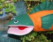Hand puppet - Finn the Fish
