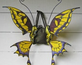 Silk Swallowtail Butterfly Wings