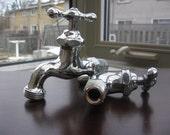 Vintage Pair Of Water Faucet