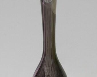 Vintage La Rochere France French Art Glass Bud Vase