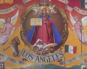 SALE Early Los Angeles VINTAGE Historical Picture Book