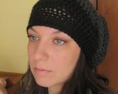 Ombre Sombre Beret Tam Slouch Hat