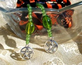 Handfasting Cord Black and Orange Pagan Wiccan Wedding Halloween Colors Clearance Price
