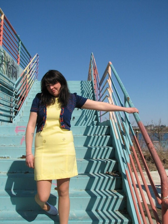 sail away vintage dress