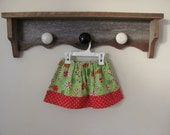 Custom Christmas Candy Twirl Skirt