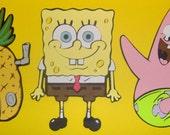 Spongebob Squarepants Paper Piecing 5 inch Die Cuts