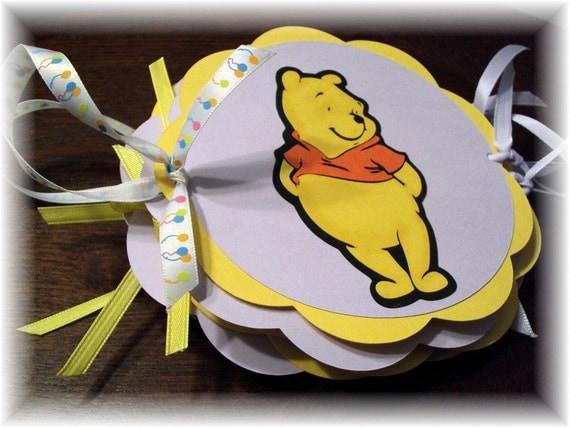 Pooh Bear Happy Birthday Party Banner