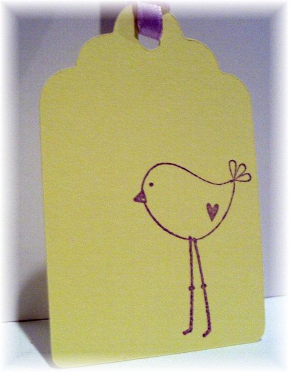 Little Birdie Tags