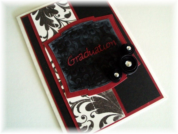 Customized personal name Graduation Card with envelope