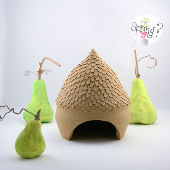 Toad House - Acorn - Ready to ship