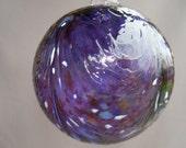 Hand Blown  Glass Christmas Ornament/Ball/Suncatcher