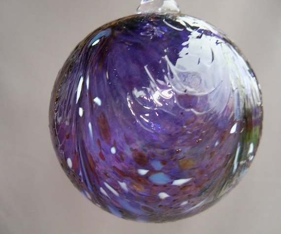 Hand Blown  Glass Christmas Ornament/Ball/Suncatcher