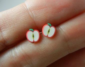 SALE SALE SALE Apples stud earrings