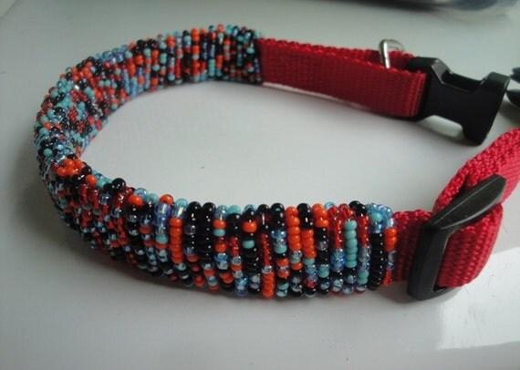 Beaded Dog Collar