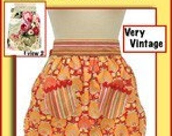 Very Vintage, Scalloped and Layered Apron Pattern