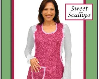 Sweet Scallops Apron Pattern