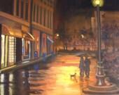 Under the Street Lamp...