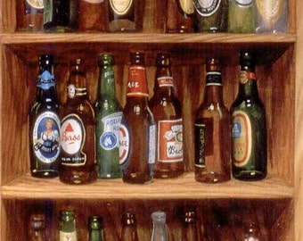 Giclee of 33 Bottle of Beer on the Wall