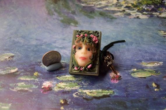 OoaK Dollhouse Fairy Fae Miniature Book