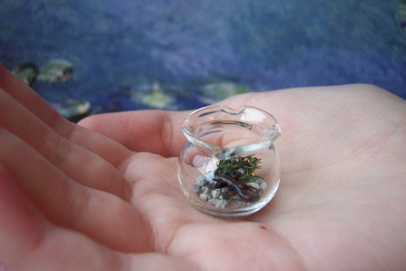Dollhouse Miniature Pet Salamander