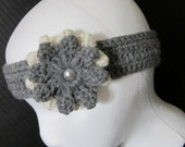 Trendy Chick Flower Thin Headband