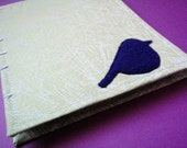 Some Plum Birdie Blank Eco-Friendly Notebook