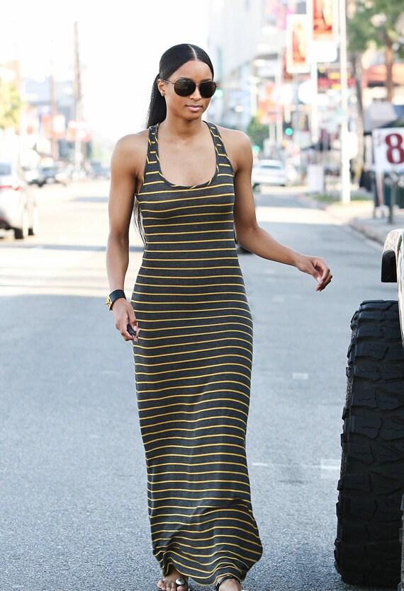 Women sexy long tank top dress size x-small, small, medium, large, x-large